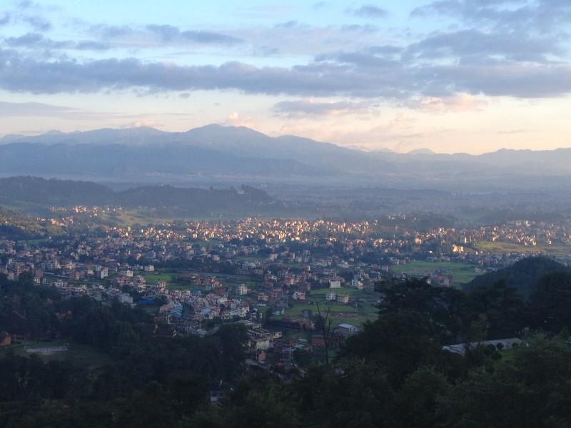 the view from Shivapuri