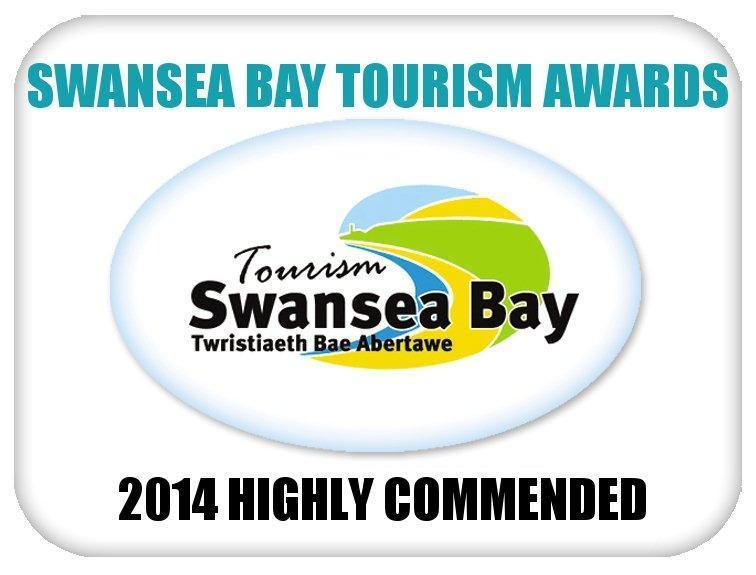 Swansea Bay Tourism Awards 2014 - Highly Commended - Best Self-Catering Accommodation
