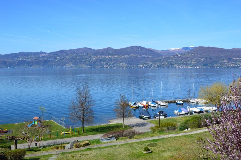 View of Lago Maggiore from the terrace