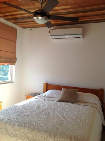 Queen Bedroom with Air Conditioning