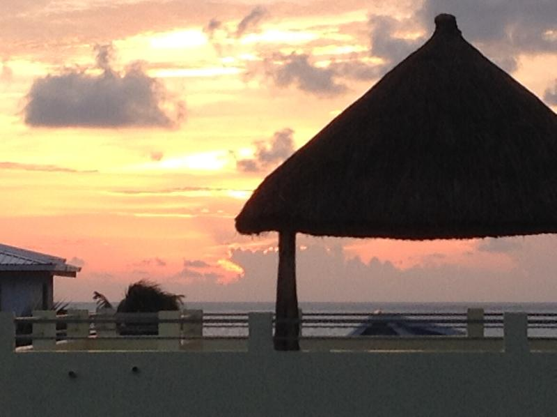 Watch the Sunrise from your private Palapa
