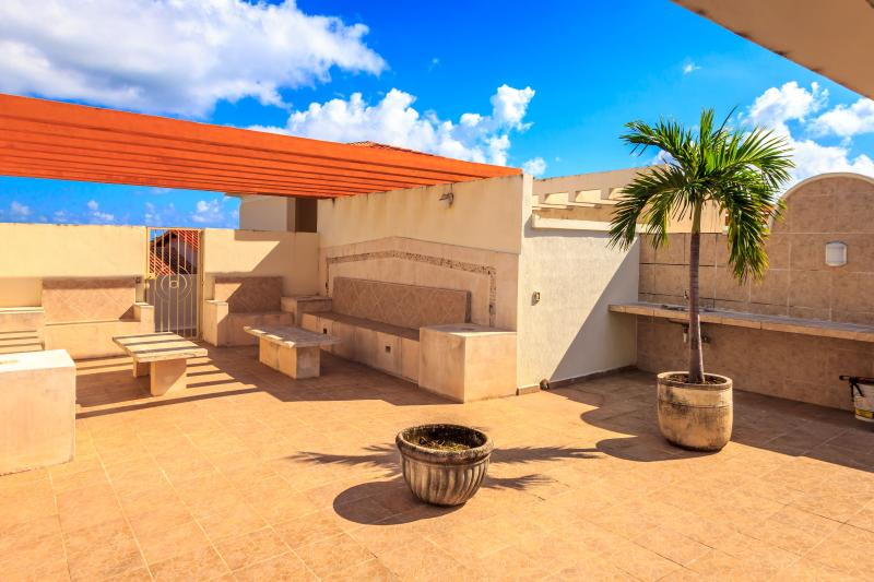 1,300 sq. ft. Private Rooftop Terrace with Tanning Bed and Furniture