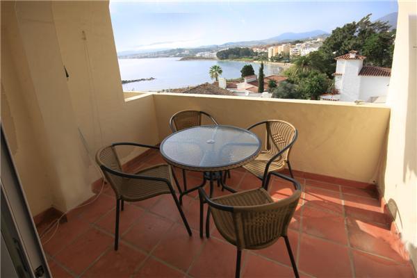 Foto di terrazza con una splendida vista