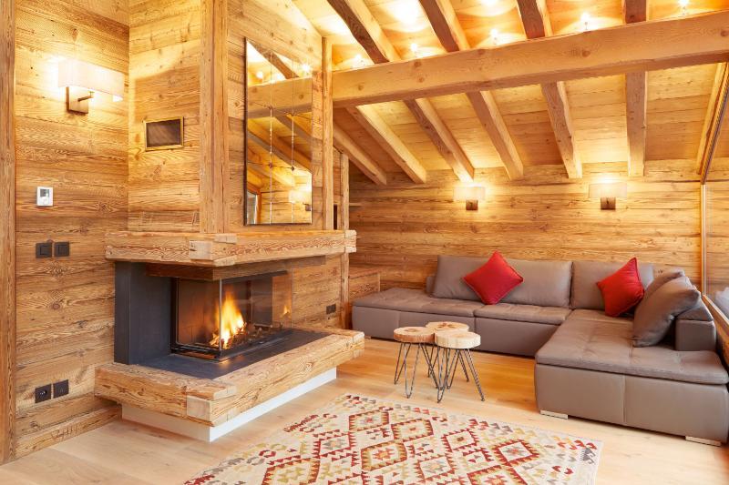 Lounge - chalet Marmotte Mountain Petit Zenith, Argentiere, Chamonix