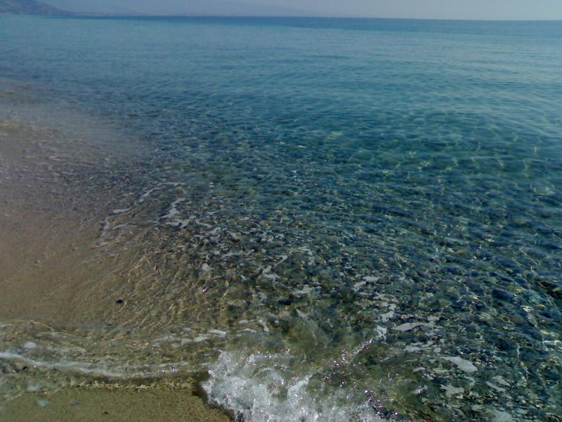 The beautiful sea of Sant'Andrea that awaits