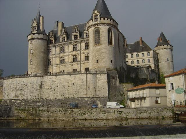 one of the chateaux of the area