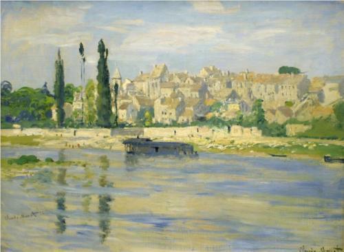 CARRIERES-Sur-Seine von Claude Monet