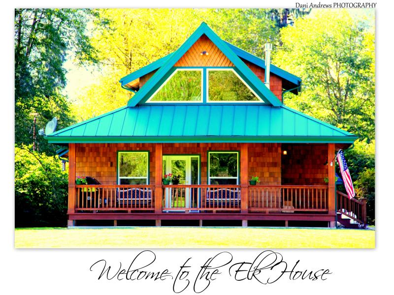 Welcome to the Elk House!, vacation rental in Quinault