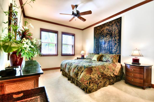 Spacious Master bedroom with great privacy