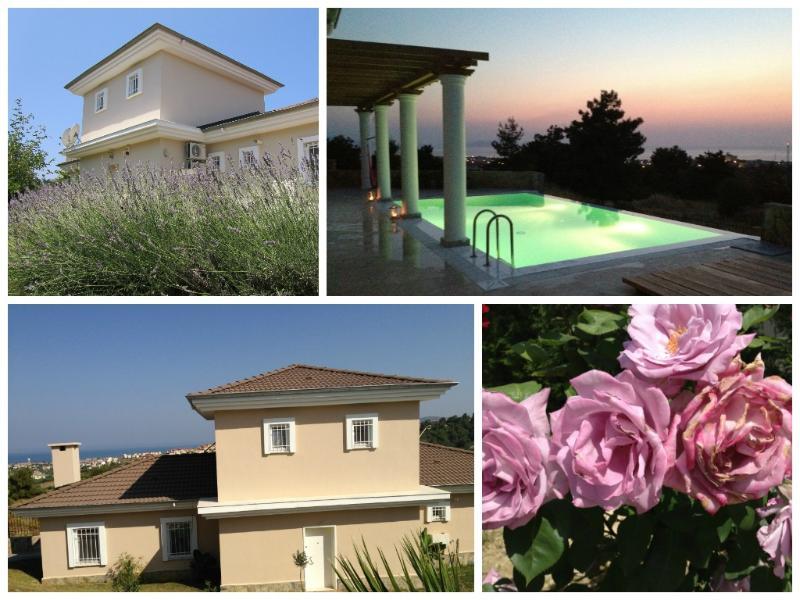 Villa de lujo con vistas al mar Egeo y Samos, con su propia piscina privada.