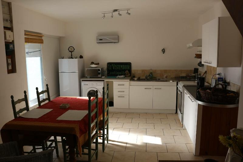 Kitchen of holiday gîte new for 2015