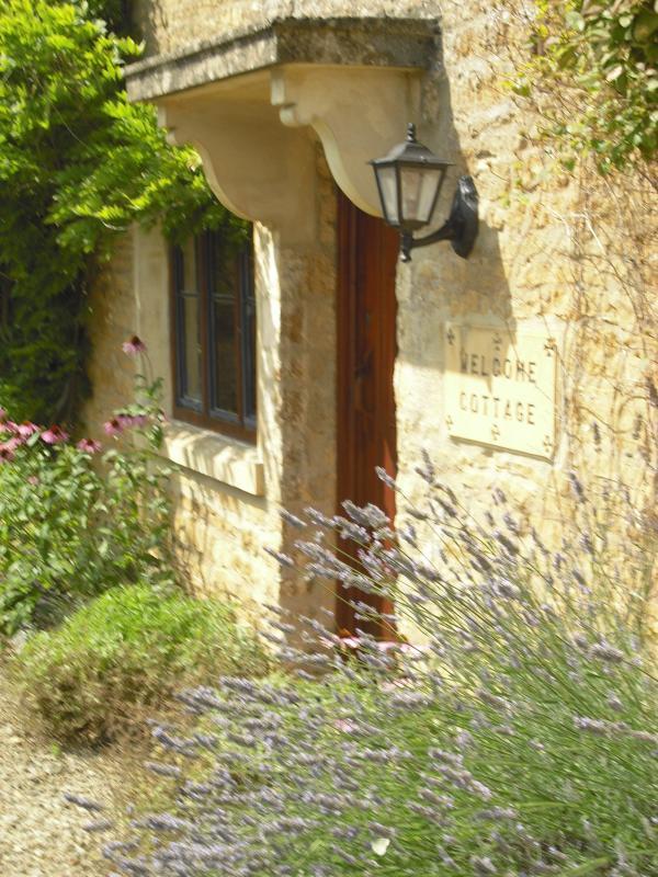 Front door Welcome Cottage