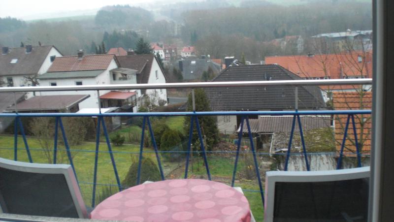 Asientos en el balcón