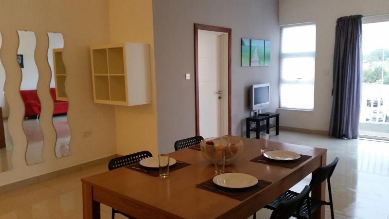 flat 8 living room/kitchen