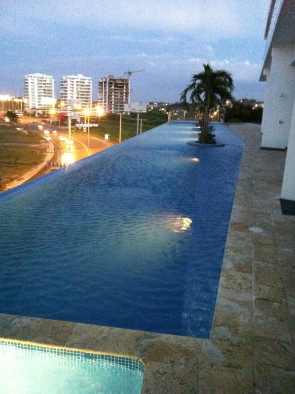 Infinity Pool on the 5th floor Club House level