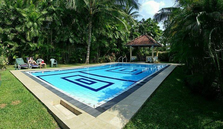 piscina y cabanna