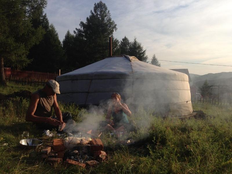 Modest yurt, holiday rental in Mongolia