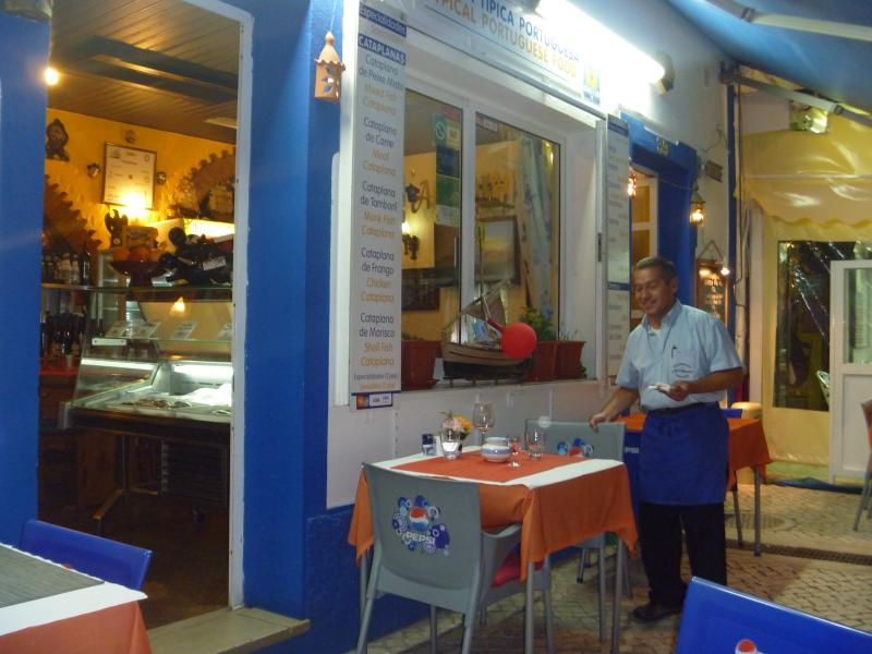 Typical Restaurant in the Old Town