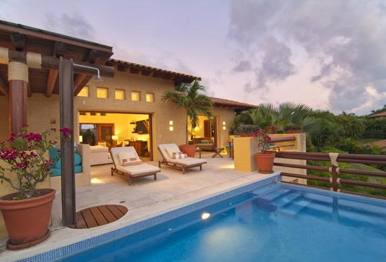 Large beautiful terrace with private pool