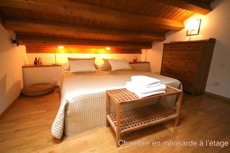 Bedroom : king bed