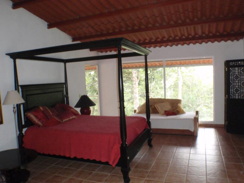 Bed in the Forest Canopy