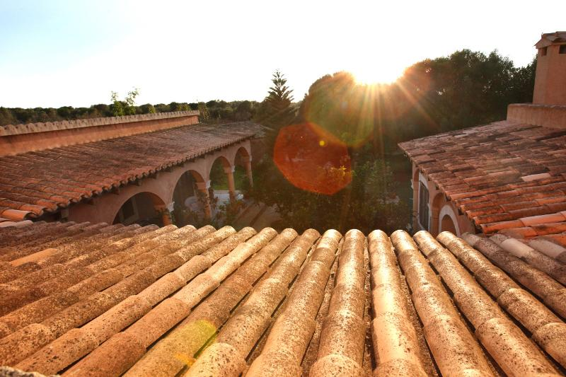 Puesta del sol vista del Loft