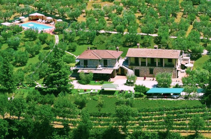 Agriturismo La Rocca Assisi, location de vacances à Ripa