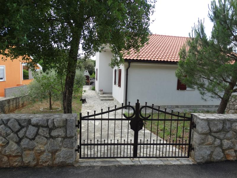 Front entrance to our Villa Mala Iva