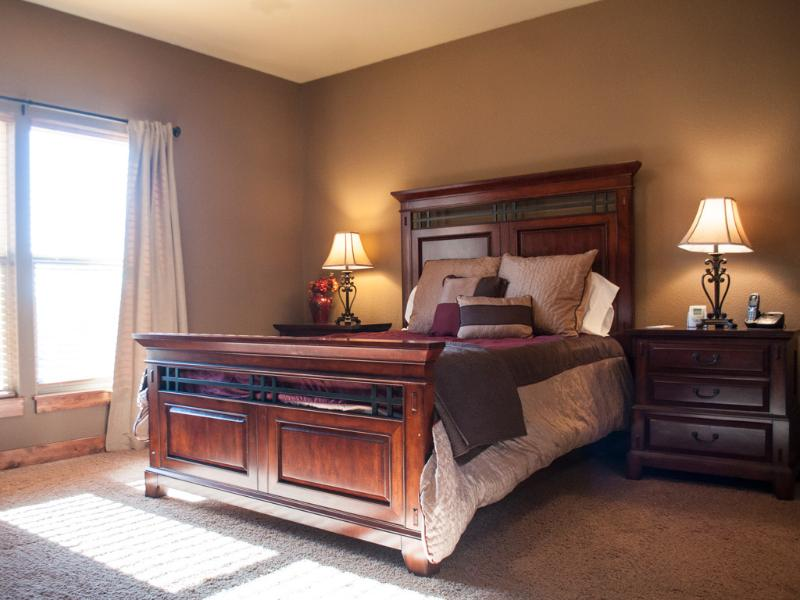 Master Bedroom is AWESOME!