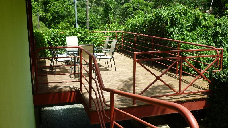 La terrasse suspendue