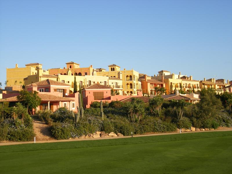 A View of the property from the 1st Fairway