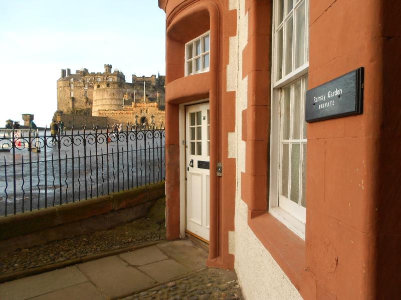 Ramsay Garden is the closest neighbour to Edinburgh Castle