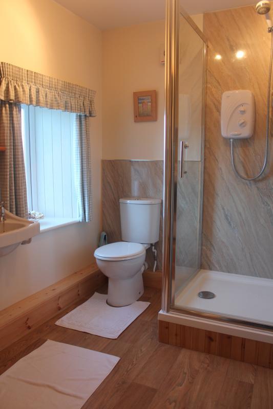 New shower room.