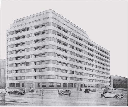 Embajada Corte en la década de 1930
