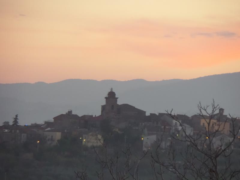 Scerni at sunset