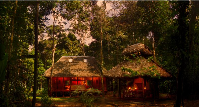 Amazon Villa in the middle of the rainforest