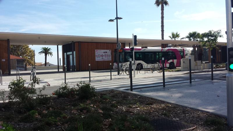 Antibes Bus Staion