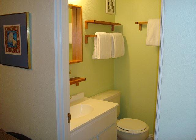 Bathroom attached to each bedroom.