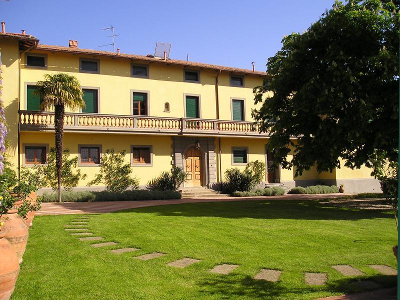 The beautiful garden of the Villa