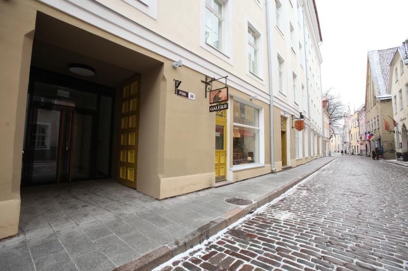 Entrance street view