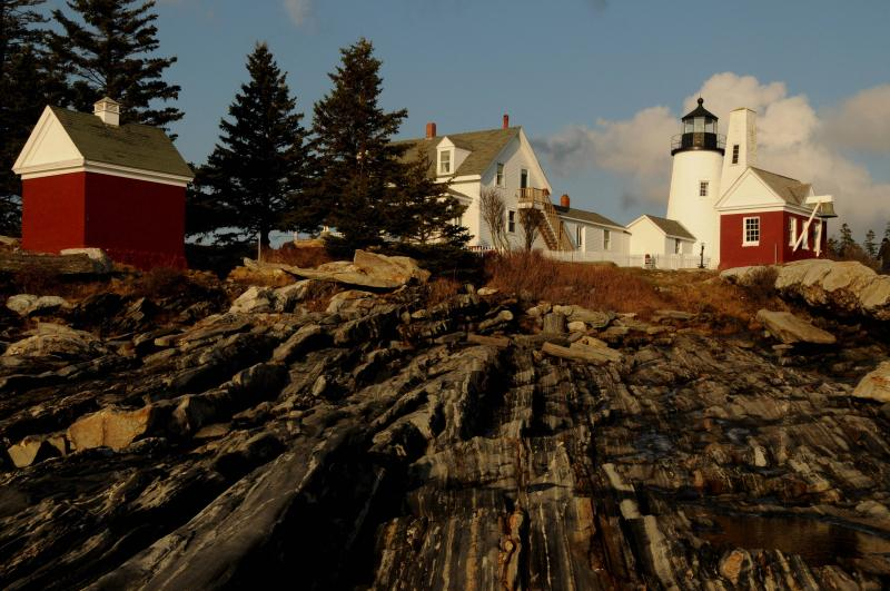 The gorgeous Pemaquid Light House is only 15 miles from MAZU.