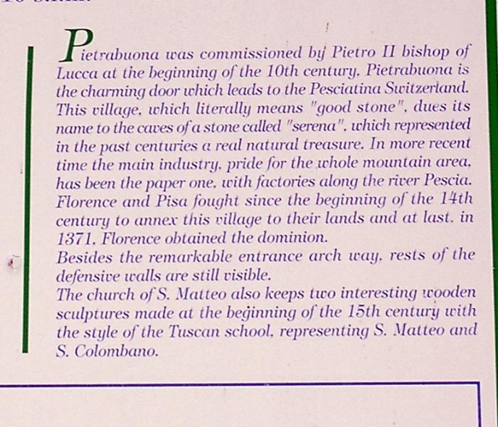 HISTORIA PIETRABUONA