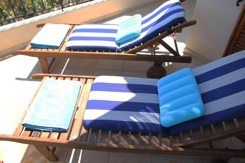 Sea view - overlooking pool -  sun bath - outside first floor bedroom