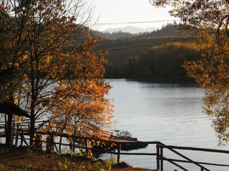 Jesienny widok na Jezioro