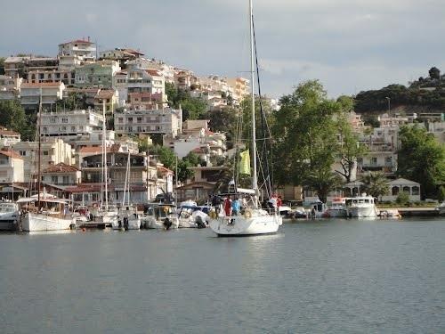 Nea Iraklitsa - view from the sea