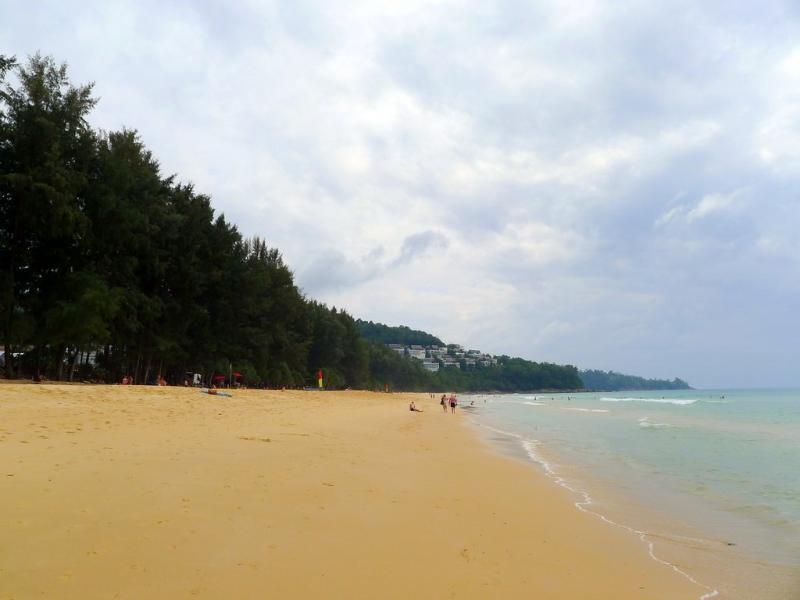 1 km long Naithon beach