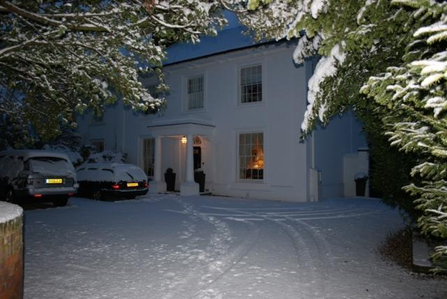 The Main House - The Grange. Plenty of parking on driveway