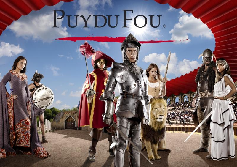 Puy du Fou : The large park Puy du Fou and his great and wonderful shows !