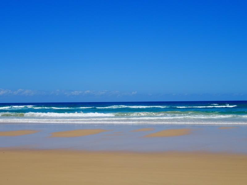 Soixante-quinze mille plage Fraser Island