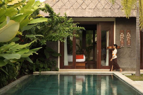2 BR villa view
